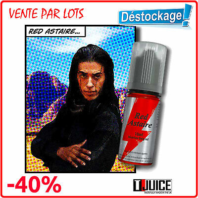 Liquide Cigarette Electronique RED ASTAIRE T-Juice Fruité e-Liquide Lot 2x10ml