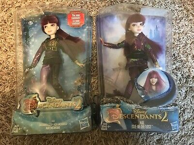 Disney Descendants 2 MAL Enchanted Sea & Isle of Lost Figures Dolls NEW SHIPFREE