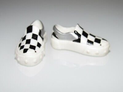 Mattel Monster High Male/Boy Doll Checkered Shoes/Footwear Fashion For Ooak