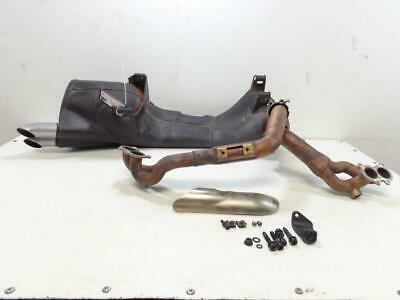 01 BUELL M2 Cyclone Exhaust Pipe Muffler Can bolts - $15 00