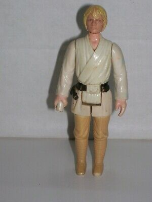 Luke Skywalker Farmboy Outfit Vintage ANH Star Wars loose figure 1977 Hong Kong