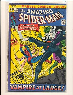 Amazing Spider-Man #102 (1963) 2nd Appearance of Moribus VG