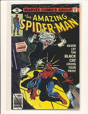 Amazing Spider-Man #194 (1963) 1st Appearance of Black Cat VG+