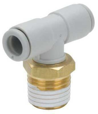 SMC KQ2T10-02AS Male Branch Tee,10mm,TubexMale BSPT