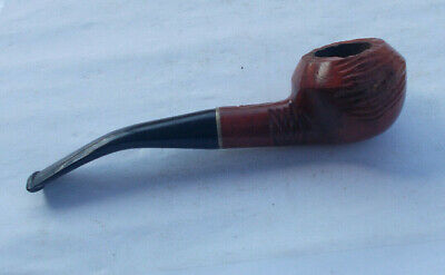 RARE Vintage Estate Tobacco Smoking Pipe Hand Carved Imported Briar Collectible