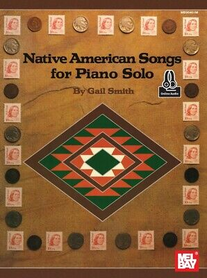 Native American Songs for Piano Solo - Book & Online Audio 95451M