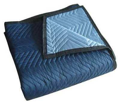 ZORO SELECT 2NKT4 Quilted Moving Pad,L72xW80In,Blue,PK6