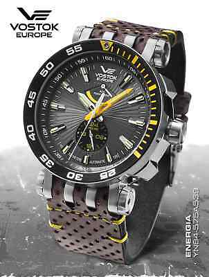 New! vostok europe Energy Rocket Automatic Power Reserve YN84-575A539 2-3 Month