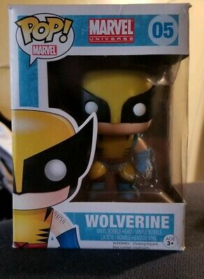 Funko Pop Marvel: Wolverine Vinyl Bobble-Head Item #2277