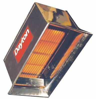 "DAYTON 3E132 Commercial Infrared Heater, NG, 30000 BtuH Input, 22-1/2""H x"