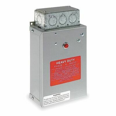PHASE-A-MATIC PAM-100HD Phase Converter,Static,1/3-3/4 HP