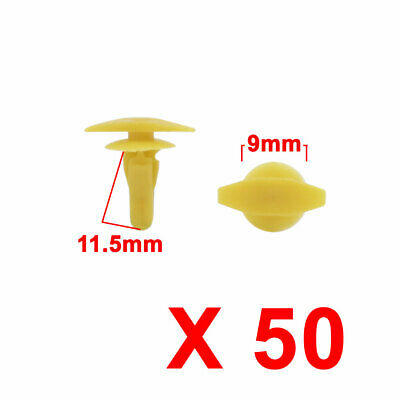 11.5mmx7.2mmx5.3mm 5PCS Nylon Fastener Rivet Retainer Clip Red Color