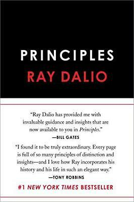 Principles: Life and Work by Dalio, Ray, NEW Book, FREE & Fast Delivery, (Hardco