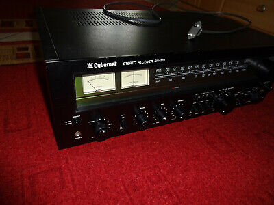 CYBERNET STEREO RECEIVER CR 110 - sehr selten,top zustand