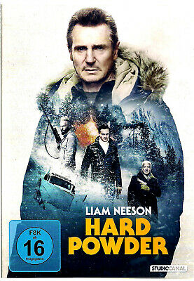 ***Dvd***Hard Powder***Liam Neeson***Brandneu*Super - Top - Action***Thriller***