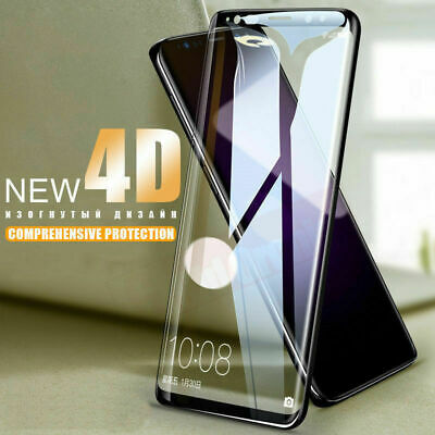 Samsung Galaxy S9 S8 S10+ Note 8 9 4D Full Cover Tempered Glass Screen Protector