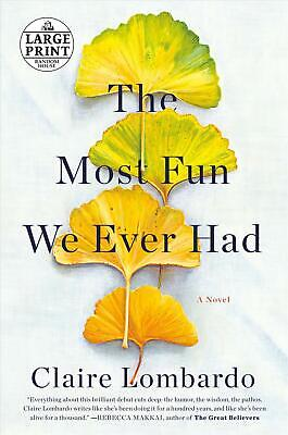 The Most Fun We Ever Had by Claire Lombardo (English) Paperback Book Free Shippi