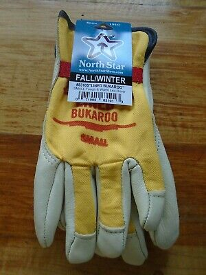 Winter Lined Bukaroo Work Glove Made in the USA 1 Pr.