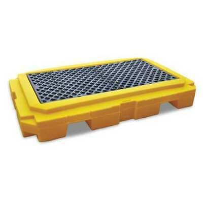 "ULTRATECH 9611 Drum Spill Containment Pallet,65-1/2"" L"