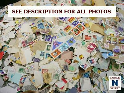 NobleSpirit NO RESERVE ~25,000 US & WW On Paper Stamp Hoard