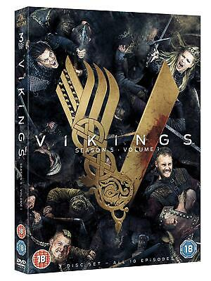 Vikings Season 5 Volume 1 (DVD) (2018) Fast & Free P&P Brand New Sealed UK