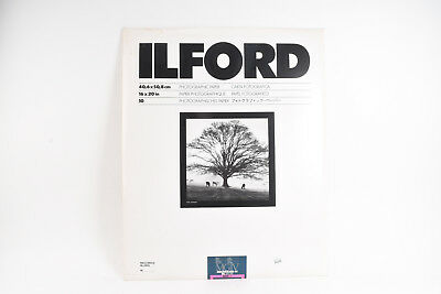 Ilford MGIV Multigrade IV RC De Luxe Glossy 16x20 Photo Paper 10 Sheets NOS V56