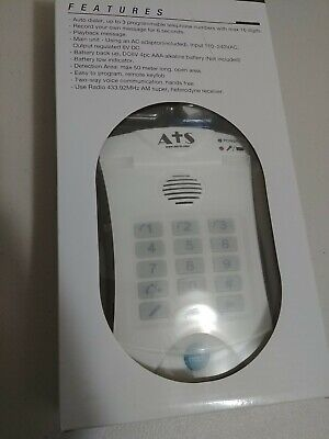 No Fees LIFE GUARDIAN ATS HELP DIALER 700 MEDICAL EMERGENCY ALERT ALARM SYSTEM