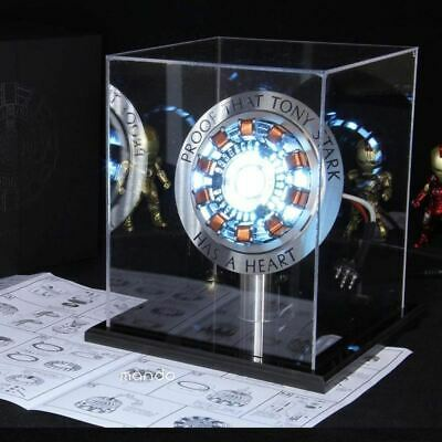 endgame cool 1:1 scale Iron Man Arc Reactor A generation of glowing iron man hea