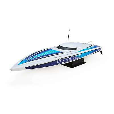 "Proboat 36 "" Sonicwake, Wht, Self-Right Deep-V senza Spazzole Rtr"