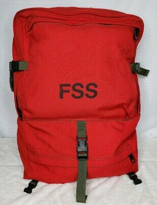 FSS Forest Service Wildland Firefighter Personal Gear Bag Helena Industries 87
