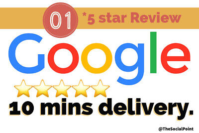01 Google Review Business Maps Local Lifetime Real Safe Five Star High Ranking