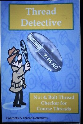 Thread Detective nut and bolt checker