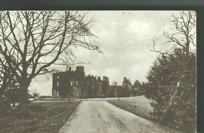c1909 Balloch Castle Loch Lomond West Dunbartonshire Scotland UK Postcard