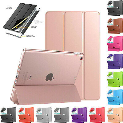 "Magnetic Smart Leather Cover Case Stand For iPad 2/3/4 9.7"" 2018 Air 2 mini Lot"