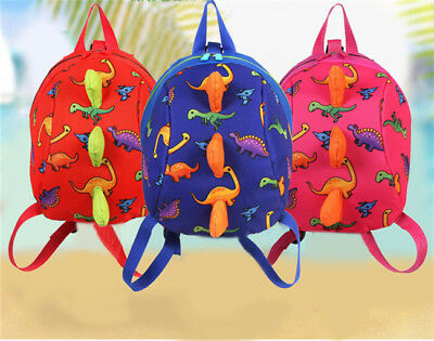 Harness Backpack Strap Bag With Rein Baby Cartoon Toddler Walking Safety LE