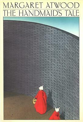 The Handmaid's Tale by Margaret Atwood (English) Hardcover Book Free Shipping!