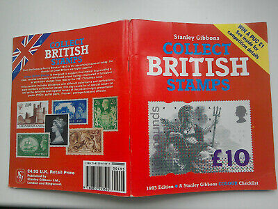 Stanley Gibbons Collect British Stamps. 1993 edition.  Very good condition.