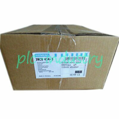 NEW Siemens 3NC8434-3 500A 660V gR 3NC8434-0C / 3NC8444-3C One year warranty