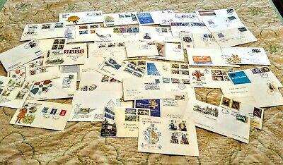 LARGE Collection of UK  First Day and Commemorative Covers 1950s 60s 70s 80s 90
