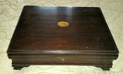 Vintage Wooden Cutlery Box