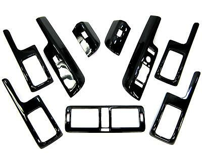 Black Gloss interior upgrade kit for Range Rover L322 Autobiography trim door