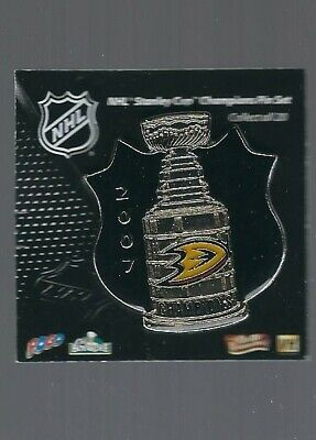 Anaheim Ducks  ''2007 Stanley Cup Champions''  NHL Hockey pin