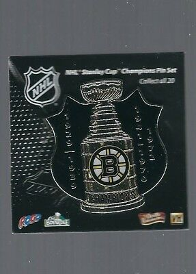 Boston Bruins  ''Stanley Cup Champions, 5 years''  NHL Hockey pin