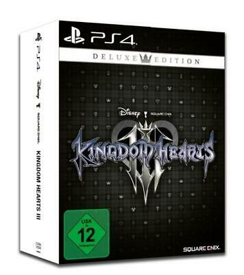 Kingdom Hearts III Deluxe Edition (PlayStation PS4) (USK) DVD-ROM Englisch 2019