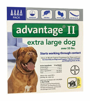 Bayer  Advantage II  Liquid  Dog  Flea Drops  0.54
