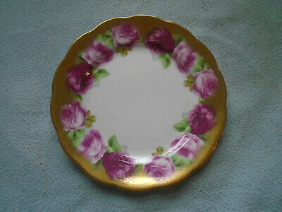 Gilded Royal Albert Old English Rose  Bone China Saucer
