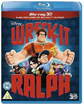 Wreck-It Ralph [Blu-ray 3D + Blu-ray] [2012] [Region Free] -  CD 0KLN The Fast