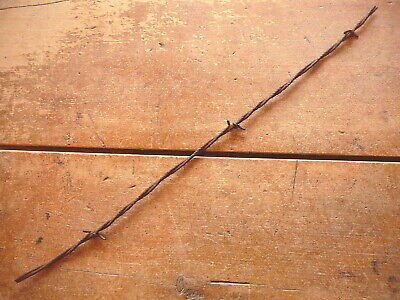 Edenborns Lightweight  Blunt Cut Two Point Gable Barb  -  Antique Barbed Wire