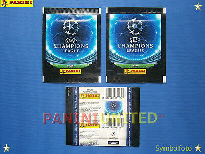 Panini★CHAMPIONS LEAGUE 2007/2008★2x Tüte/packet/pochette/bustine - sealed