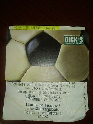 $149.99 Dick's Sporting Goods Gift Card